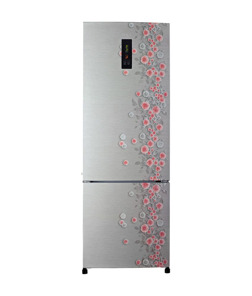 Haier 320 Ltr HRB-3404PSL-R (3403PSL-R) Bottom Mounted Refrigerator - Silver Liana