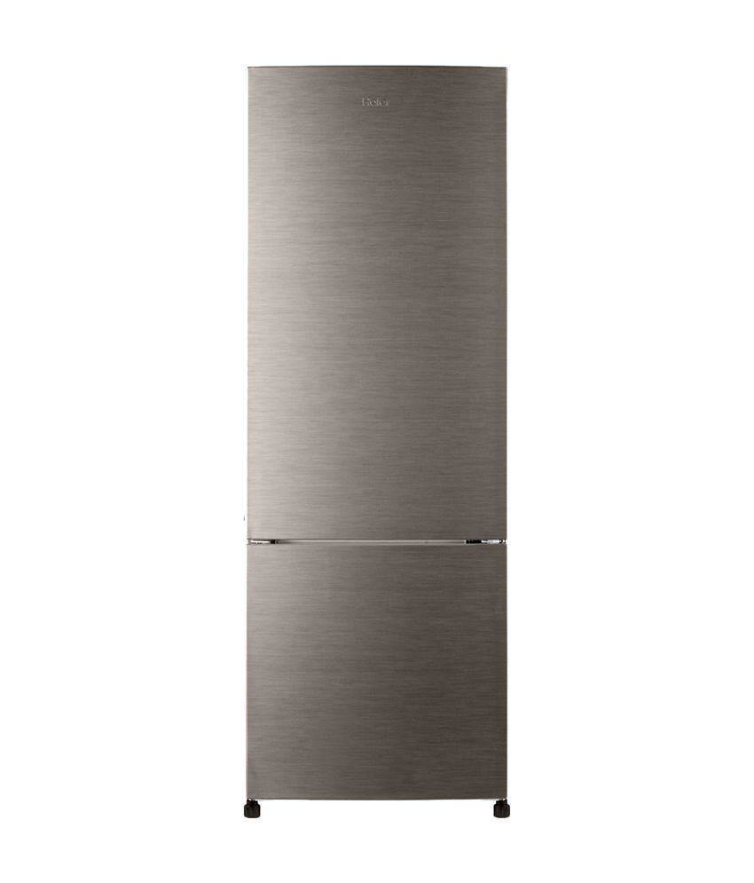 Haier 345 Ltr HRB-3653BS/3654BS-R Refrigerator - Silver Brush Line