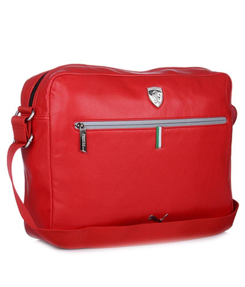 c3b6594a61a4 Puma Ferrari Reporter Bag - Buy Puma Ferrari Reporter Bag Online at Low  Price - Snapdeal