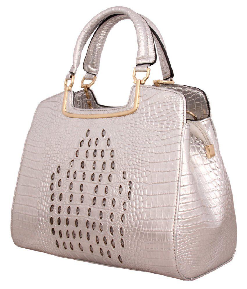Esbeda Esb690619silver Silver Shoulder Bags