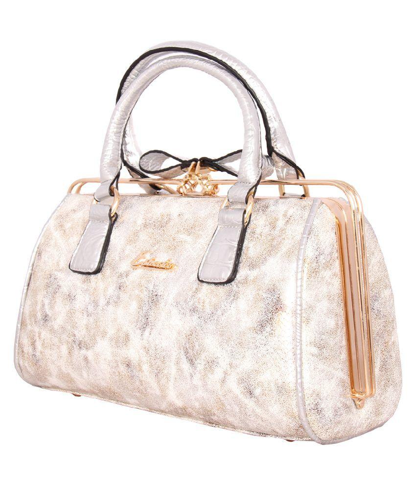 Esbeda Esbaa0737gold Gold Shoulder Bags