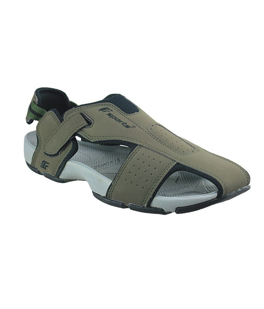 5fff8b33b723d F Sports Green Floater Sandals - Buy F Sports Green Floater Sandals Online  at Best Prices in India on Snapdeal