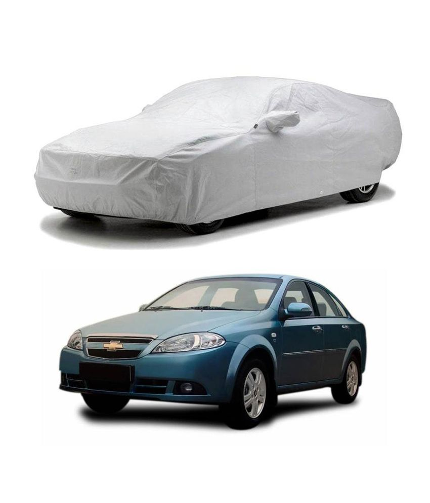Relax Auto Car Body Cover Silver Matty Chevrolet Optra
