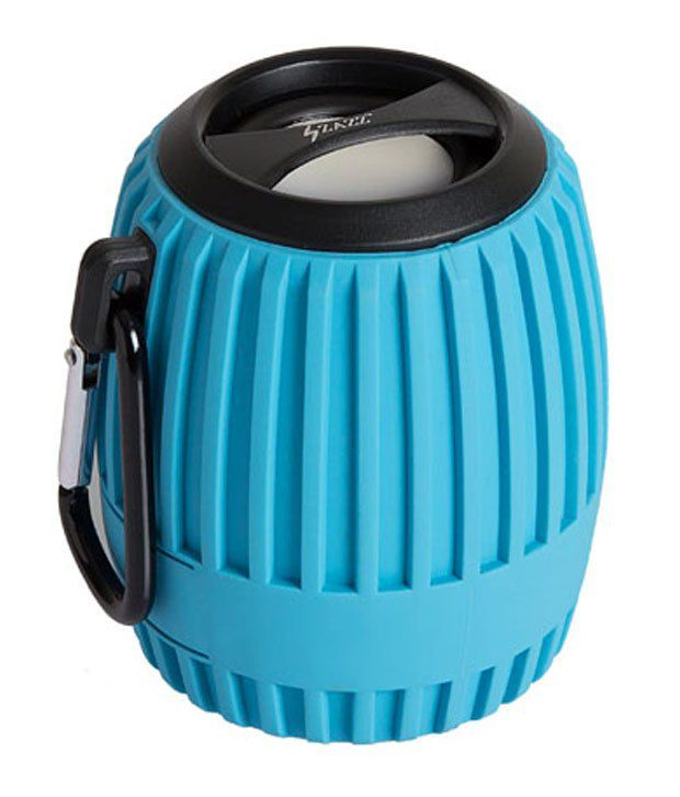 Zazz-bluetooth Speakers Zbs127-blue