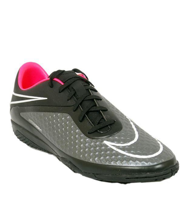 93df5af2177d Nike Hypervenom Phelon Ic Black Football Sport Shoes - Buy Nike Hypervenom  Phelon Ic Black Football Sport Shoes Online at Best Prices in India on  Snapdeal
