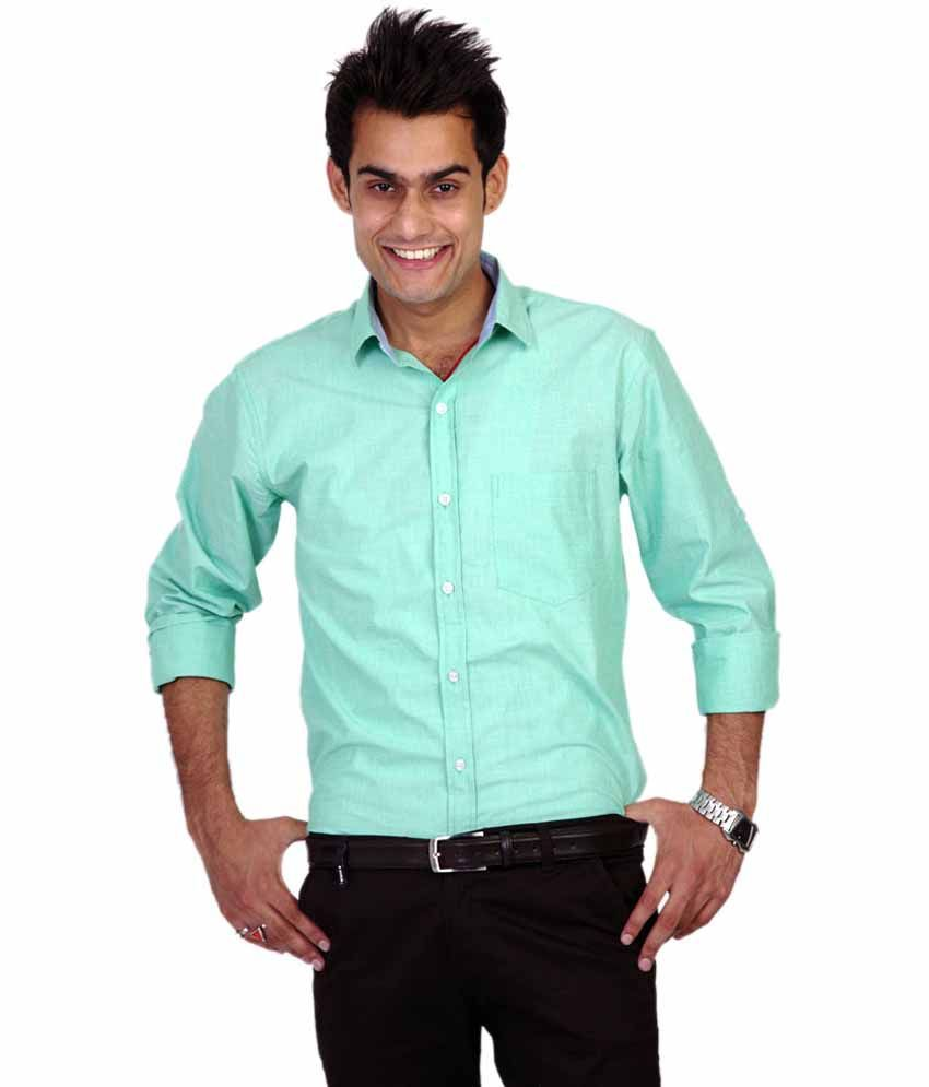 Tgm Green Casual Shirt