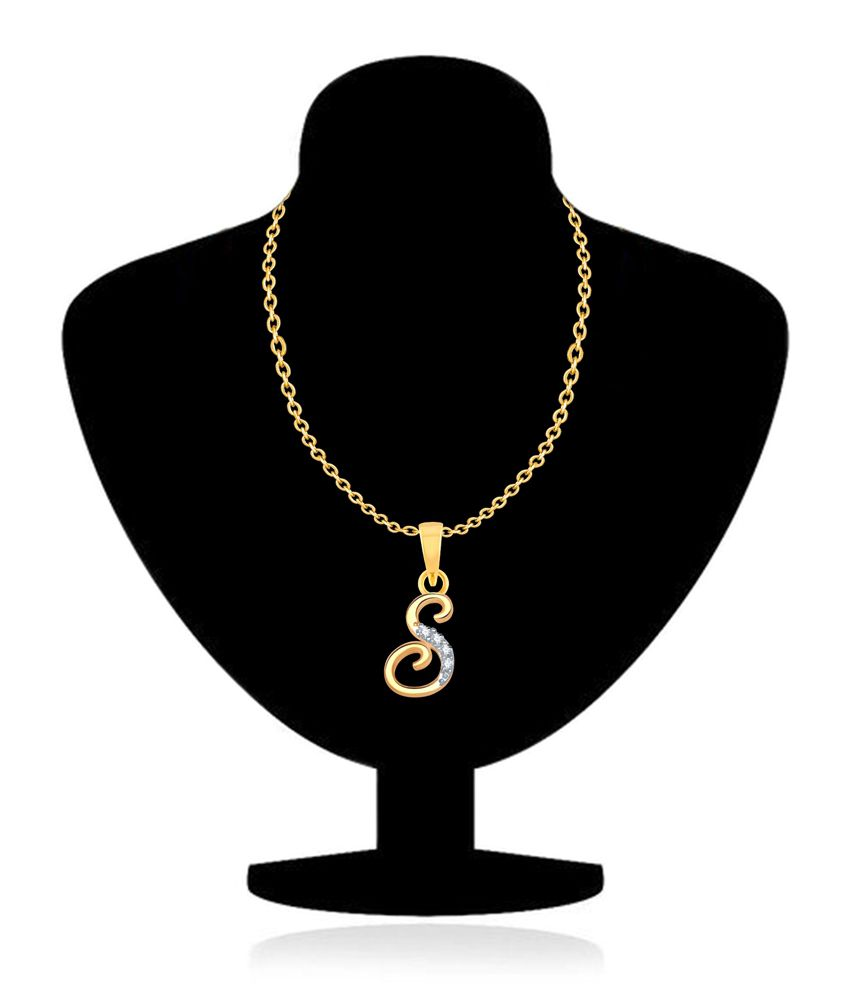 yellow chain gold necklace p products s web cuban yg pendant oro vrai letter and