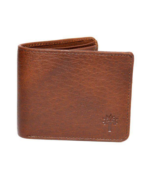 Woodland Men's Casual Wallet Art W520BRN: Buy Online at ...