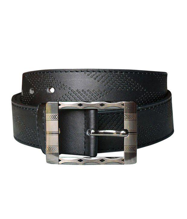 Bueva Black Formal Belt