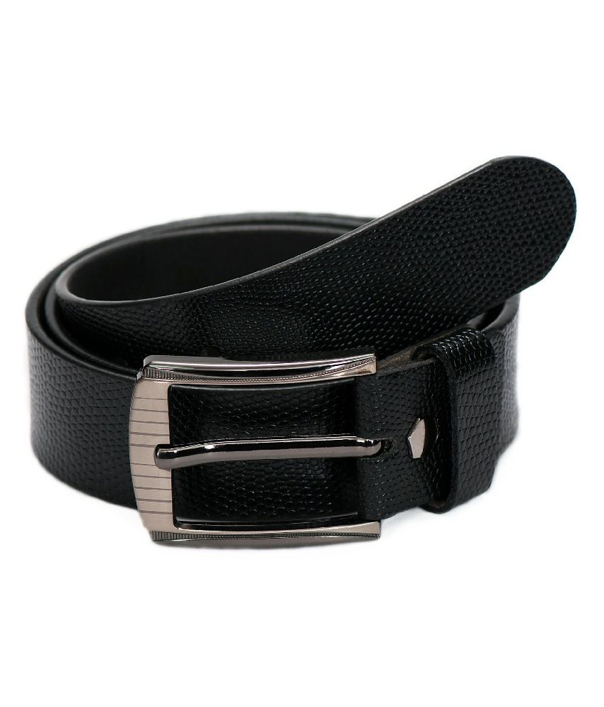 Jihi Fashions Black Formal Single Belt