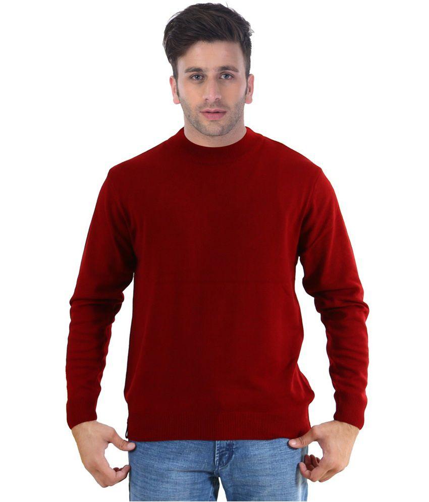 Sportking Maroon Color T-Shirt for Men