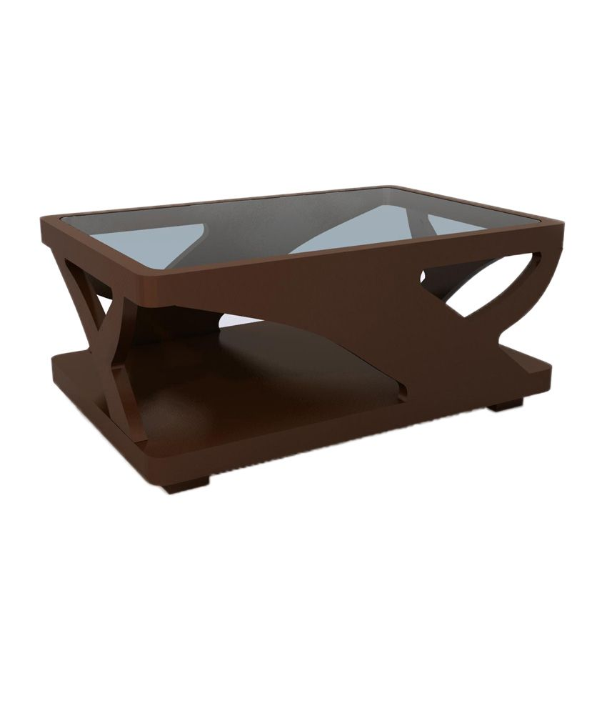 solid wood center table with glass top buy solid wood center table rh snapdeal com