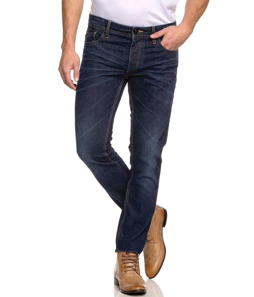 jack jones tim navy blue slim fit jeans buy jack. Black Bedroom Furniture Sets. Home Design Ideas