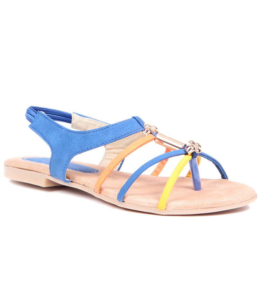 Lovely Chick Blue Sandal