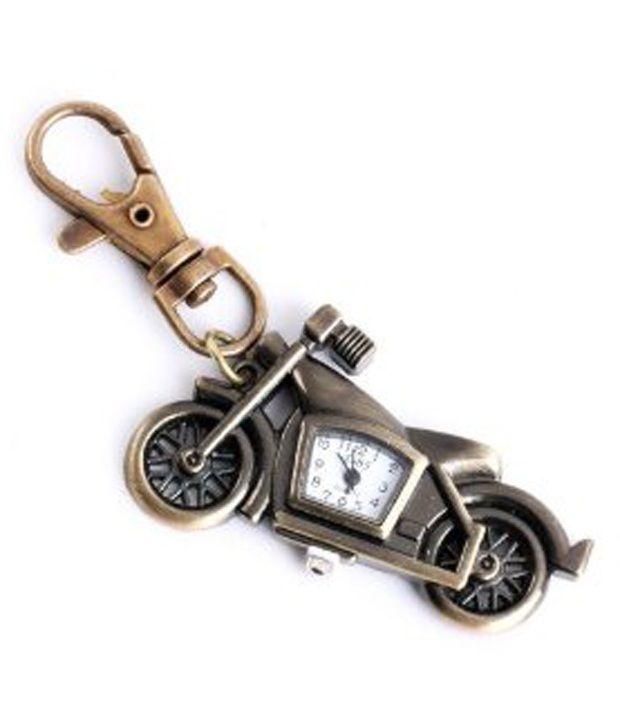 Kairos Designer Mini Motor Bike Clock Keychain Vintage Key Chain  Buy  Kairos Designer Mini Motor Bike Clock Keychain Vintage Key Chain Online at  Low Price ... 624cffda2e60