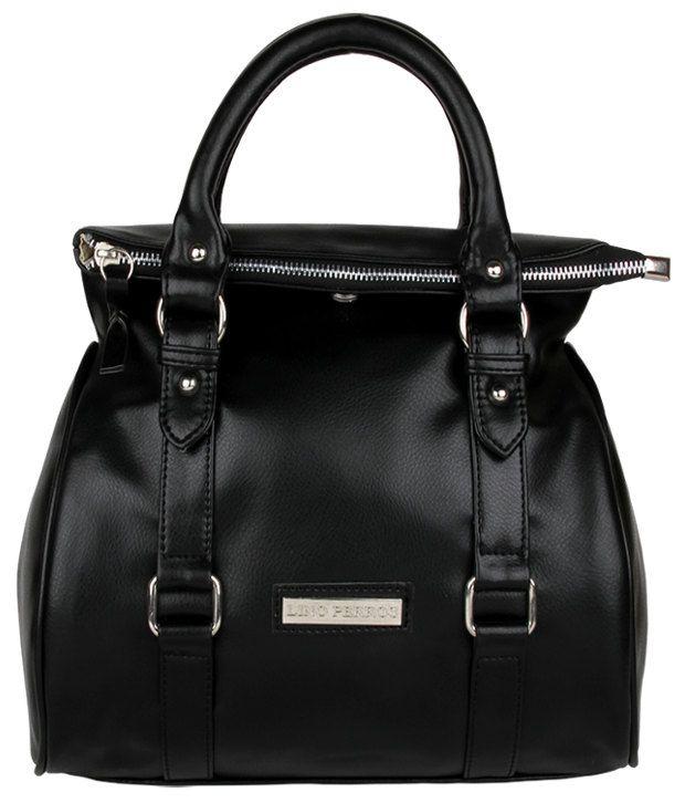 Lino Perros Lwhb01725 Black Black Shoulder Bags