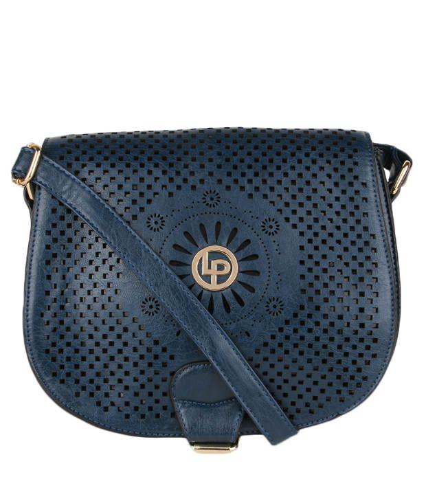 Lino Perros Lwsl00155 Blue Blue Sling Bags