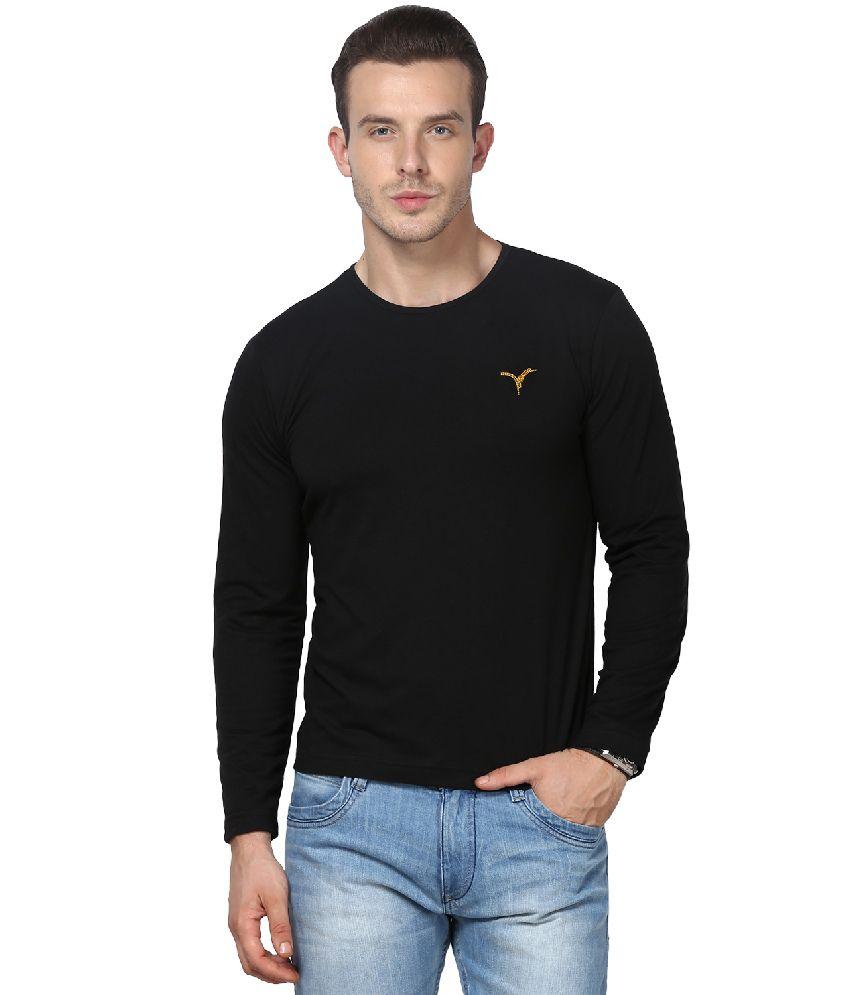 Monteil & Munero Black Cotton T-shirt