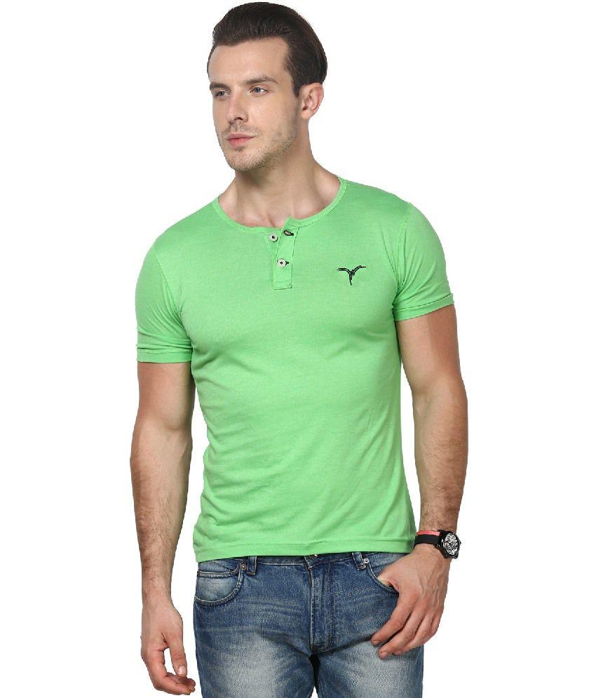 Monteil & Munero Green Cotton Blend T-shirt