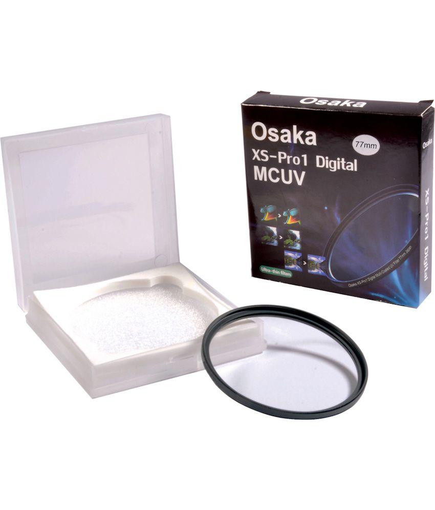 Osaka 77mm Multi Coated UV Filter Ultra Slim MCUV 12 Layer Coating