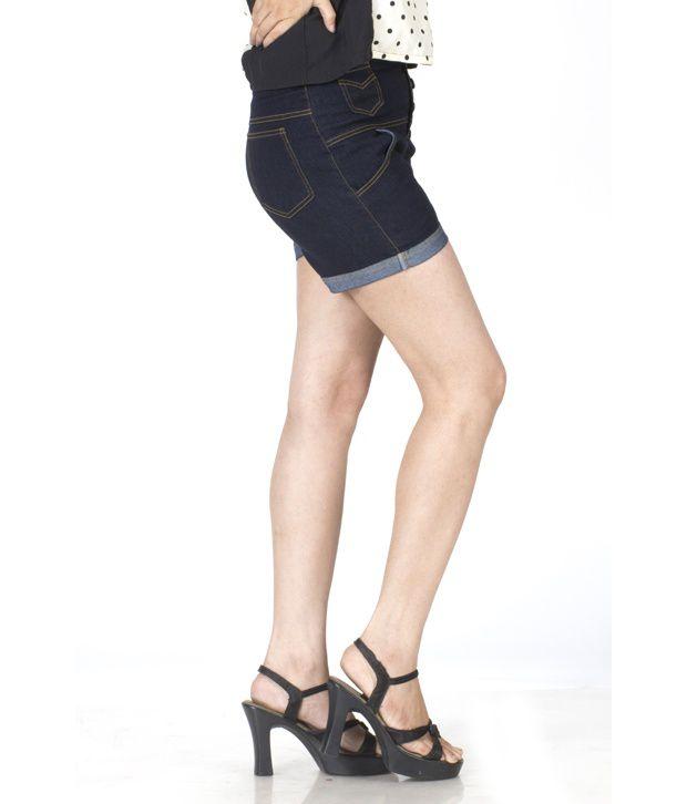 High waist button jeans online india