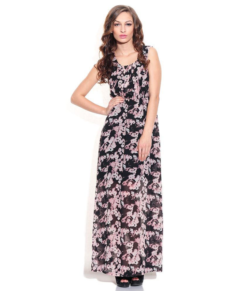 Maxi dress black buy online