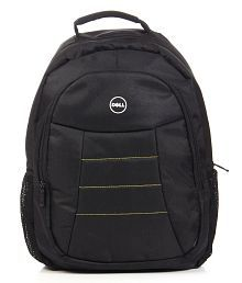 Black Laptop Backpack Manufactured For Dell Laptops