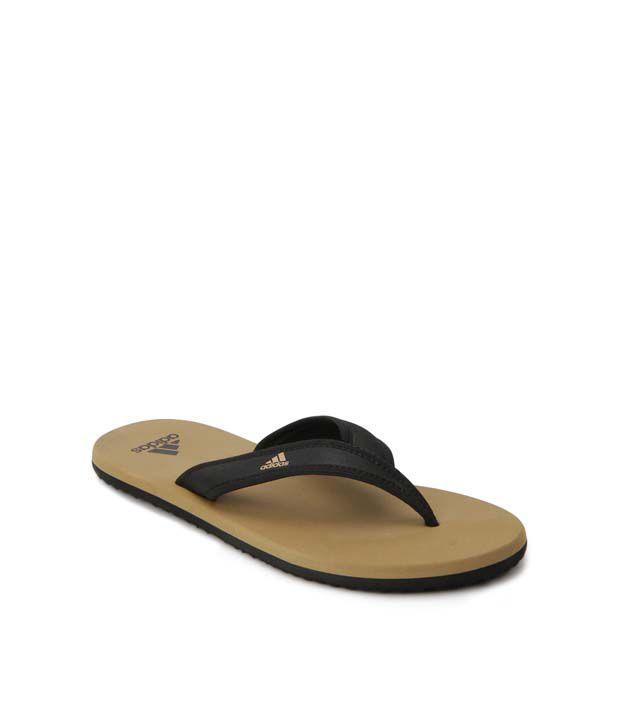 Adidas Khaki Flip Flops