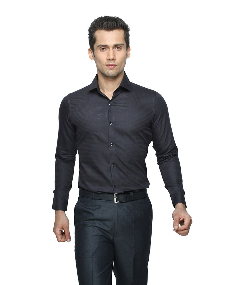d2c62329c2 Globus Black Party Wear Shirt For Men - Buy Globus Black Party Wear Shirt  For Men Online at Best Prices in India on Snapdeal
