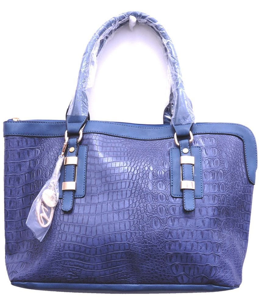 Monett Dark Blue P.u. Women's Shoulder Bags