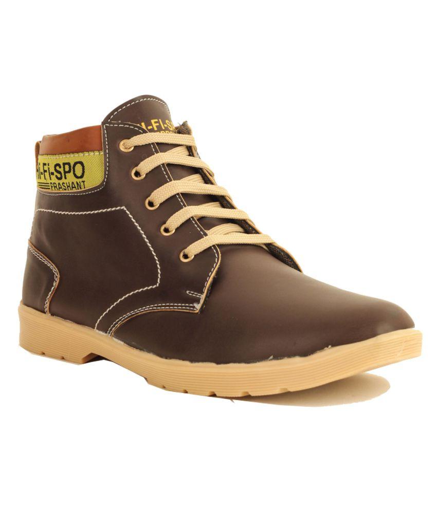 Pede Milan Brown Boots