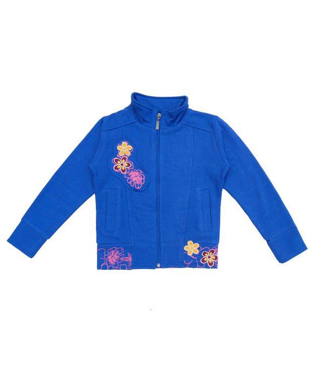 Sweet Angel Amazing Blue Sweatshirt For Girls