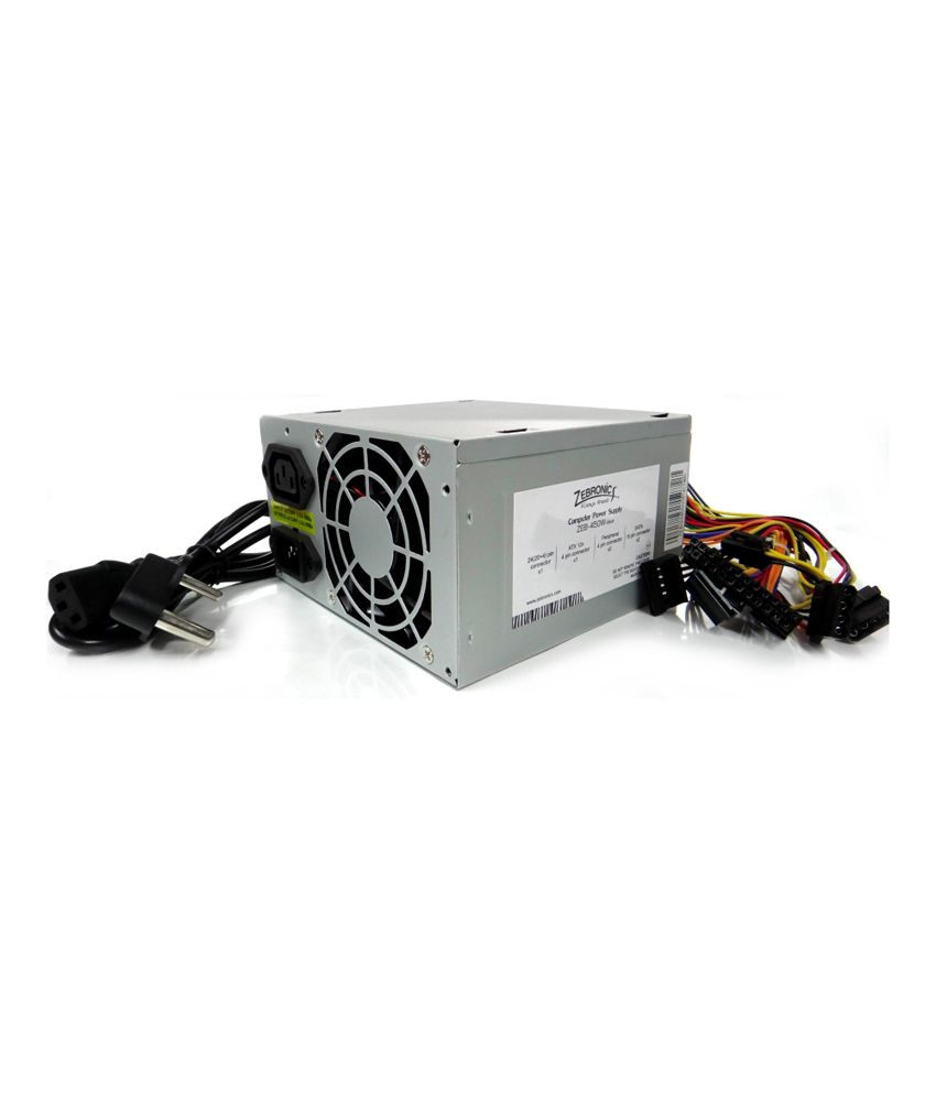 Zebronics 450 Watt Value Plus Power Supply SMPS (ZEB-450W VALUE ...