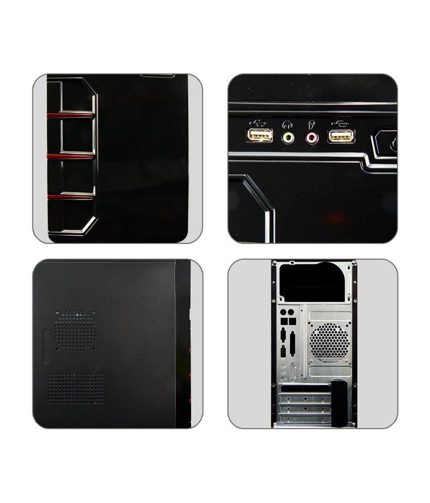 ... Zebronics MYTH Desktop PC Cabinet (without SMPS) ZEB125R ...