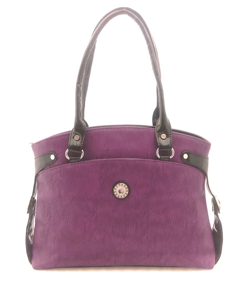 Bagitude Ladies Handbag Purple