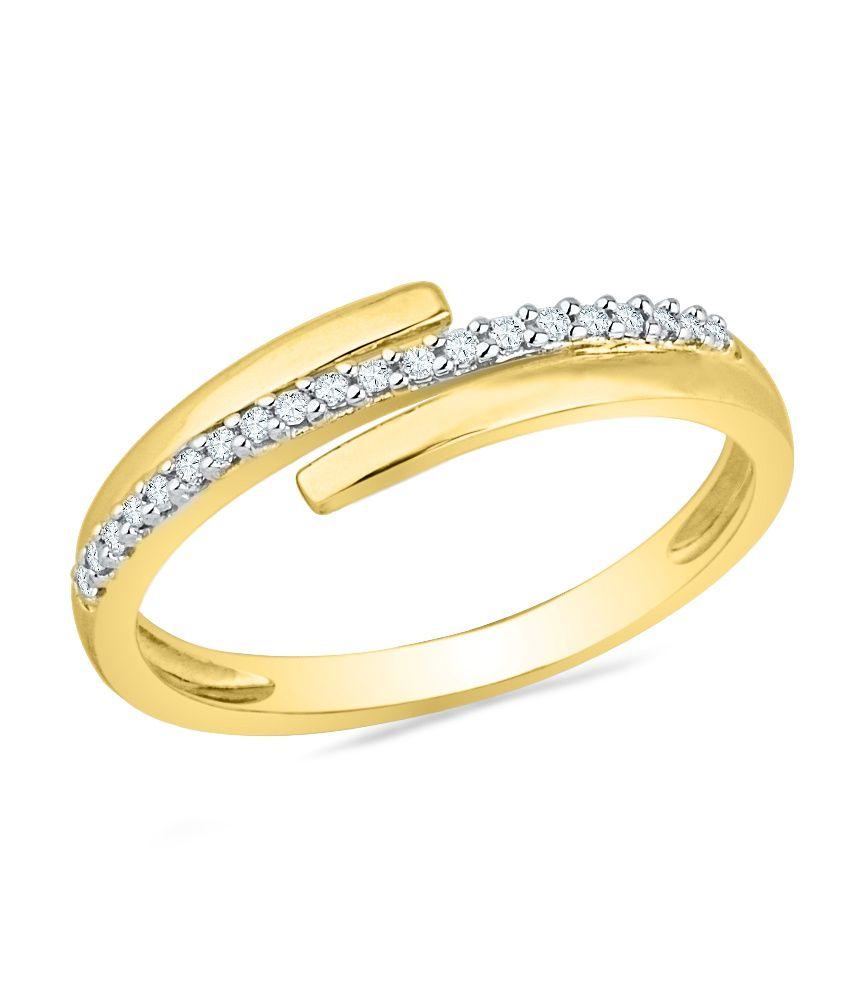 Ishis Yellow 18kt Gold Fashion Ring