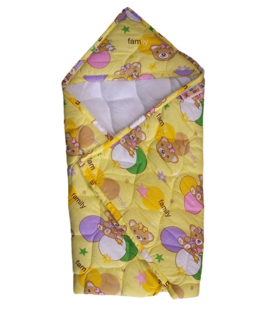 Mykid Baby Wrapper - Yellow