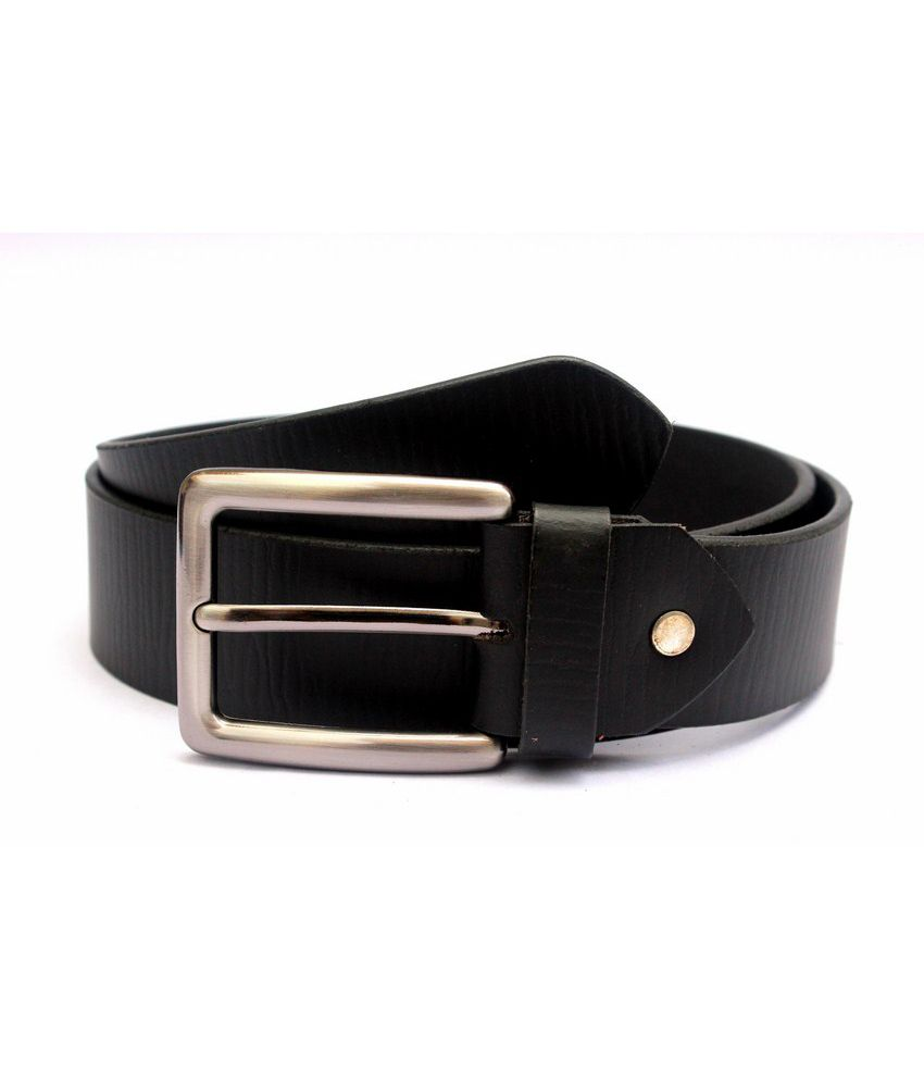 Saddle King Pro Mens Black Leather Belt-pair Of 4