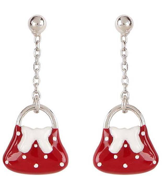 Disney Mickey & Friends Bag Shape Earrings