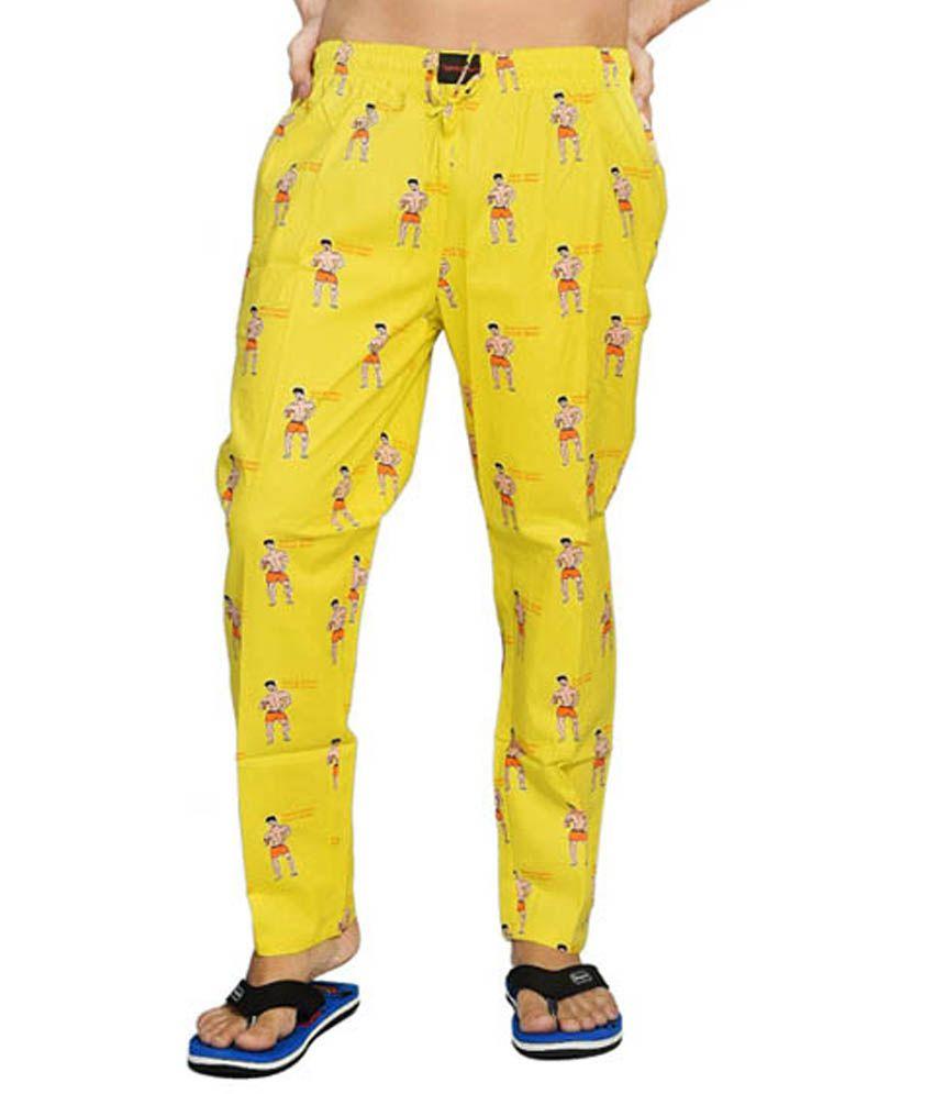 Flamboyant Multicolor Cotton Pyjama - Buy Flamboyant ...
