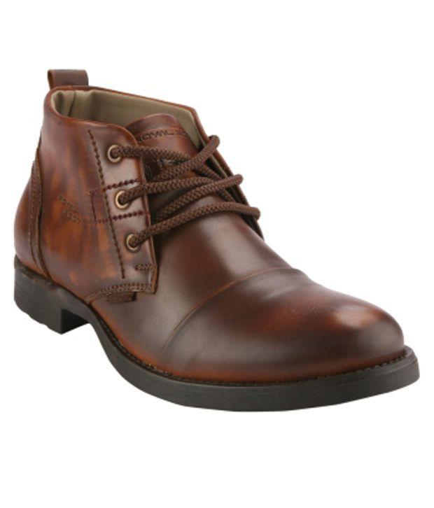 Wave Walk Brown Boots
