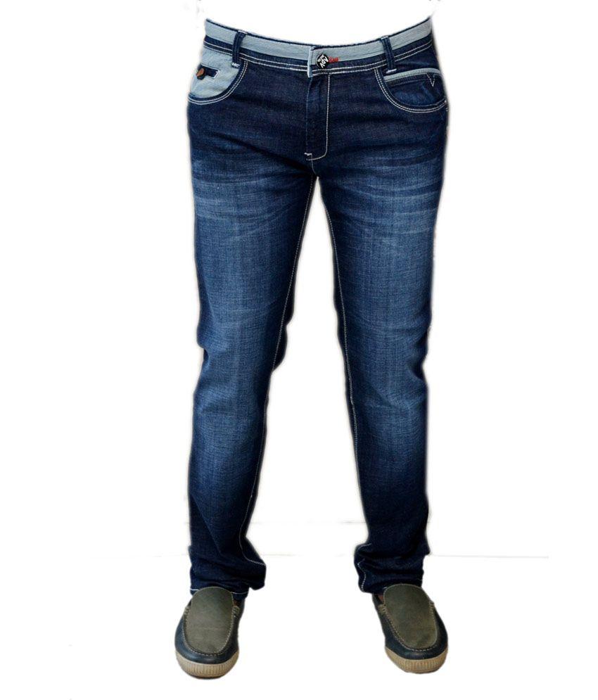 Adventure Denim Dark Blue Jeans
