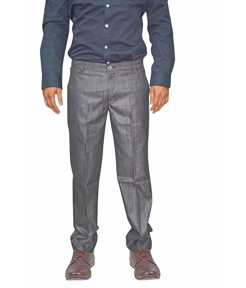 Dzine-array Brown Trouser