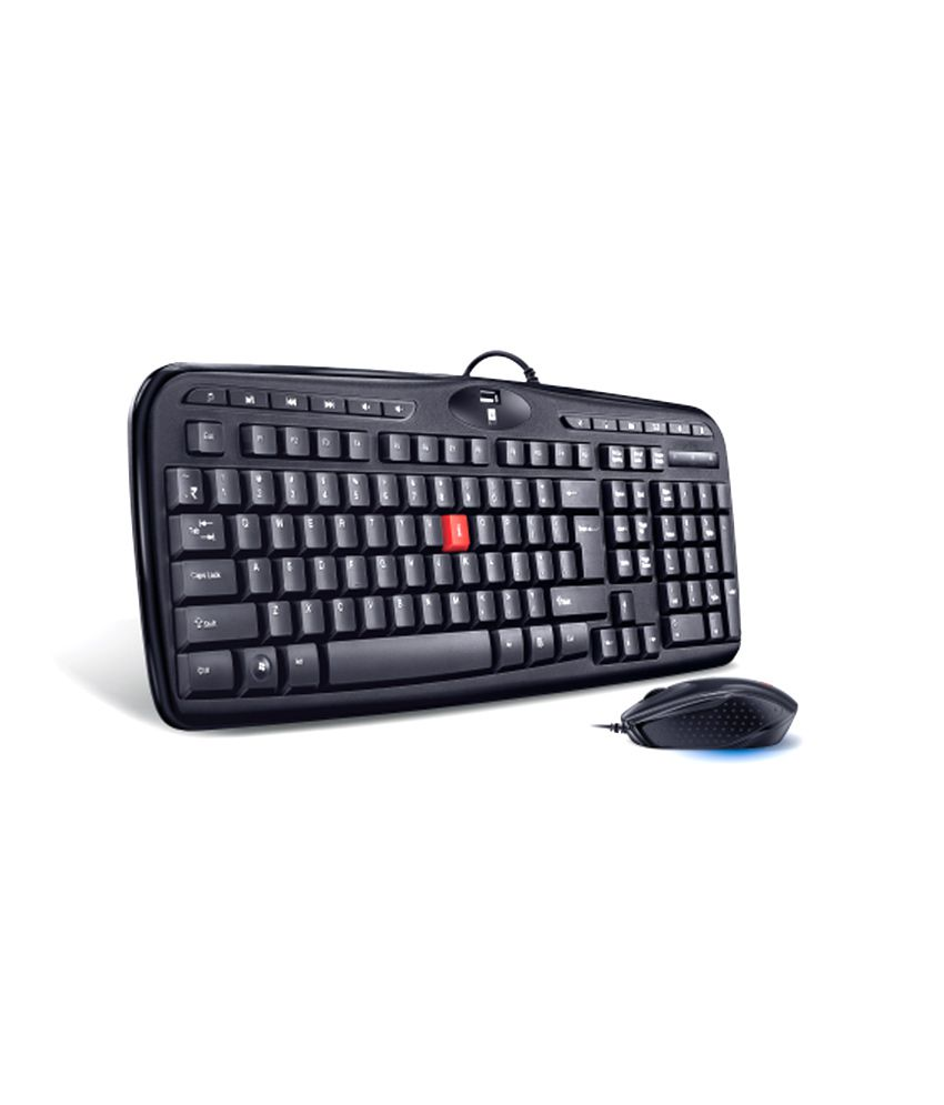 IBALL XCLUSIVE K9 KEYBOARD PS/2 & MOUSE USB With Wire