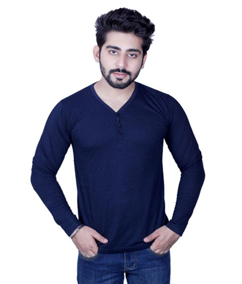 Strak Cotton T-shirt For Men