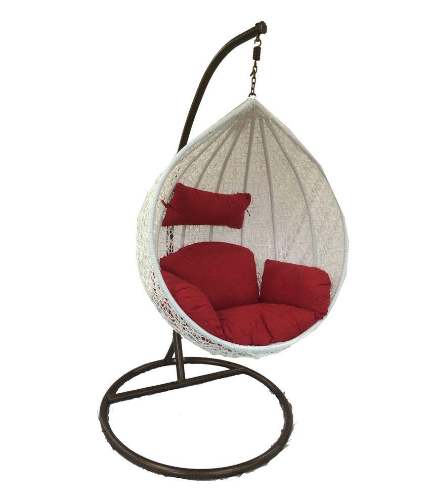 We Woodys Modak White Hanging Chair