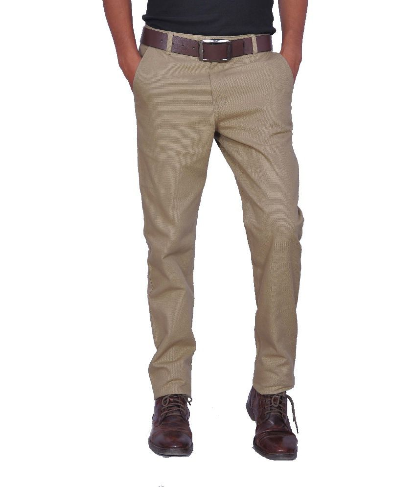 Leaf Shirt Cotton Blend Regular Formal Trouser