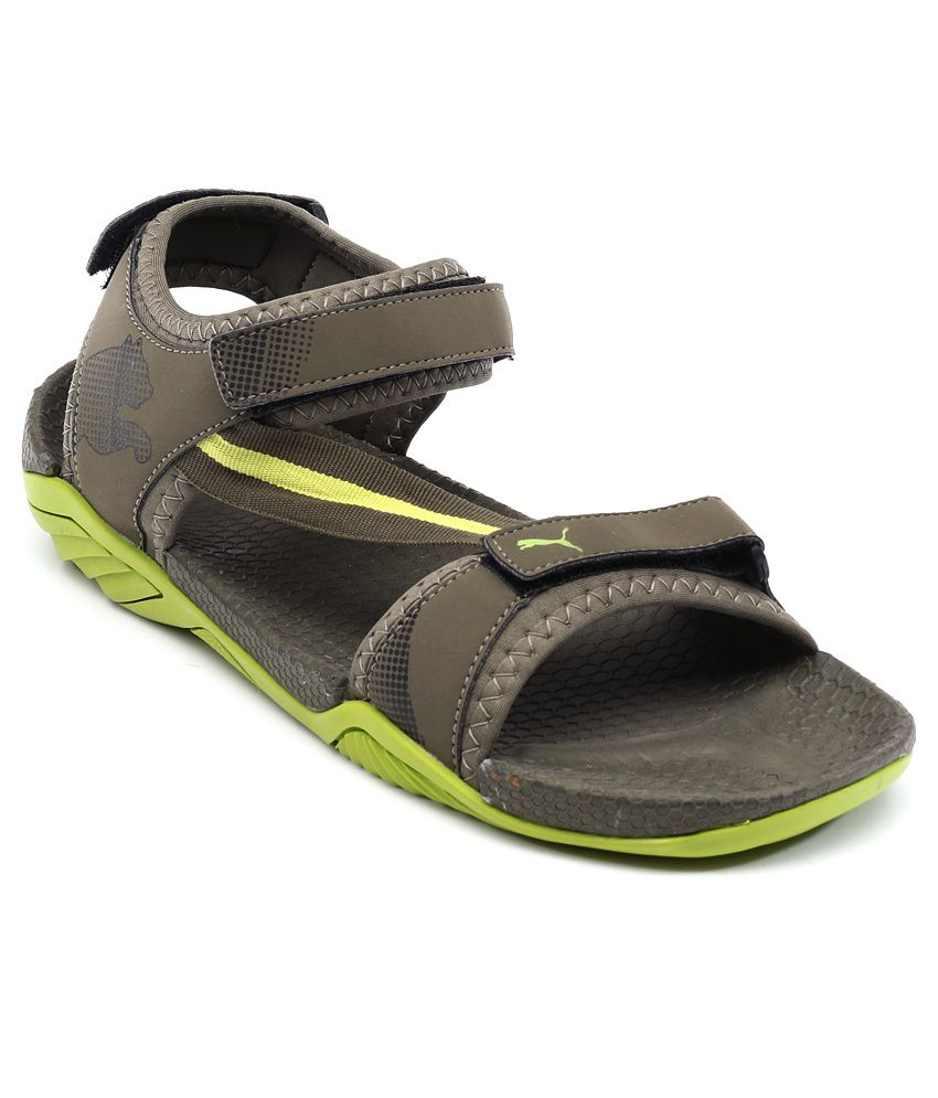 a0eb27b68d90 Puma Green Floater Sandals - Buy Puma Green Floater Sandals Online at Best  Prices in India on Snapdeal
