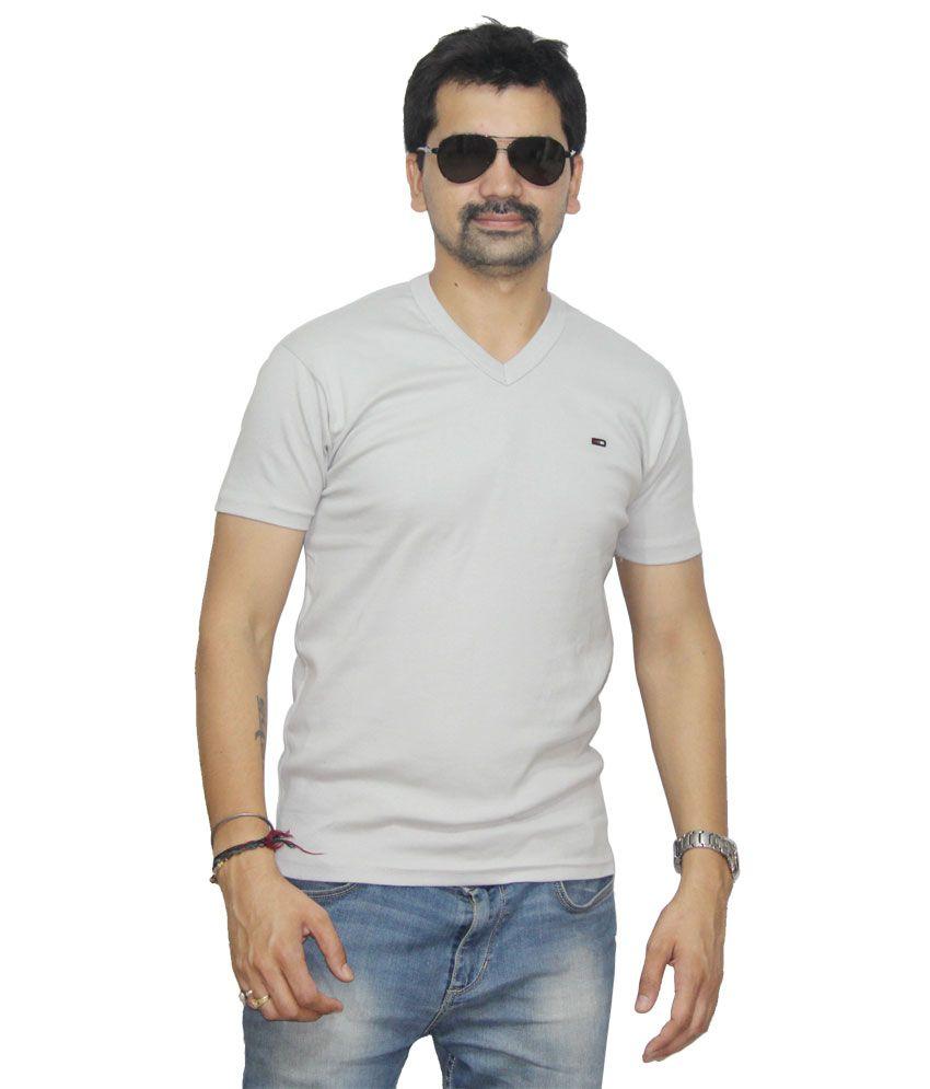 Sat Classic Logo Gray T-shirt