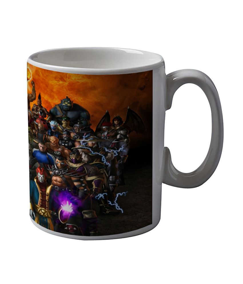 Artifa Mortal Kombat Characters Coffee Mug